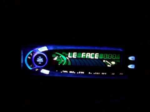 Panasonic Autoradio FX88 Demo Modus Car Stereo Hifi 1998