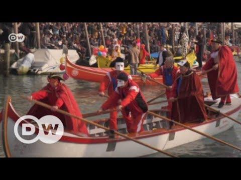 Ein Besuch beim Karneval in Venedig | DW Deutsch