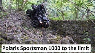 9. Polaris Sportsman XP 1000 kolejny wypad w teren i wypadek