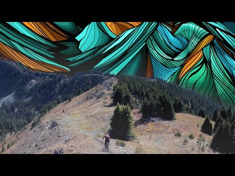 Mountain Bike Meets Painting   Micayla Gatto's Intersection (видео)