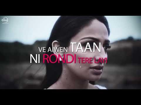Rondi Tere Layi | Lyrical Video | Babbal Rai | Pav Dharia | Preet Hundal | Speed Records