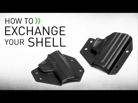 Exchanging Your Holster Shell