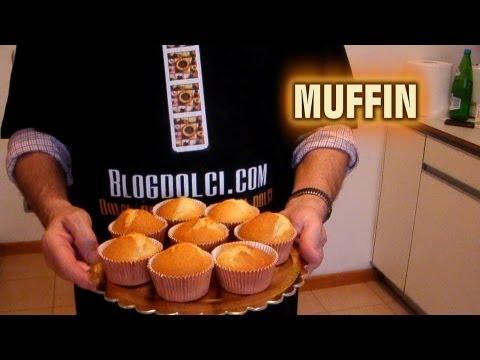 Muffin, la ricetta dell'ex pasticcere