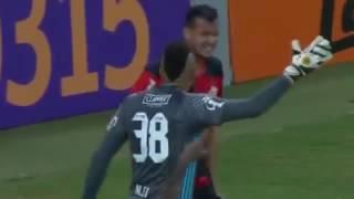 Os melhores momentos do jogo. Flamengo 1 X Cruzeiro 0.