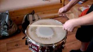 Video Travis Angel Drumming