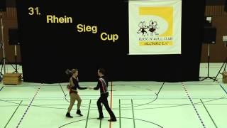 Elisabeth Kleinstück & Rene Kleinstück - 31. Rhein-Sieg-Cup 2013