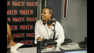"""West Coast editor of Essence Magazine, Regina Robertson came by Sway in the Morning to talk about her new book, """"He Never..."""