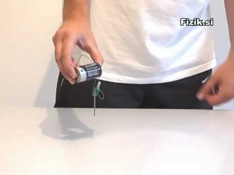 Electromagnet - physics experiment