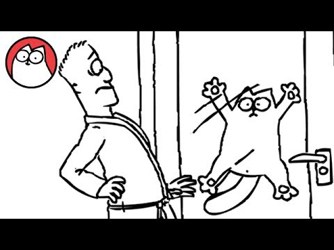 Let Me In! – Simon's Cat