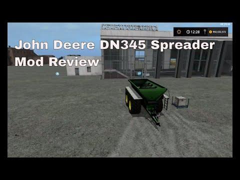 FS17 John Deere DN345 Spreader v1.9