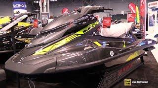 10. 2015 Yamaha WaveRunner VXS Jet Ski - Walkaround - 2015 New York Boat Show