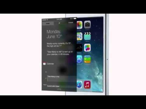 Apple iOS 7 Official presentation HD (видео)