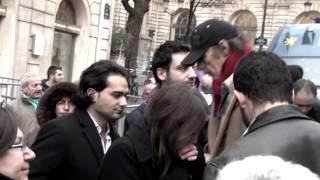 Intervention lors de la manifestation contre le négationnisme du 23 janvier 2012 - Sénat