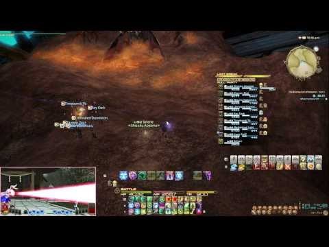 Final Fantasy XIV A Realm Reborn: Coil of Bahamut Turn 5 Attempts with a guest, Ray Dark!