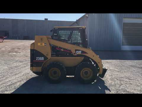 CATERPILLAR スキッド・ステア・ローダ 236BSTD1C equipment video 4rgcCgFhYZs