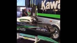 5. 2017 Kawasaki Jetski SX-R 4 stroke unveiling