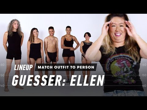 Match Outfit to Person (Ellen) | Lineup | Cut