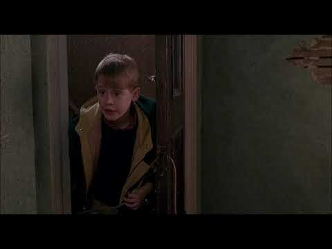 Home Alone 2:Lost In New York (1992) Kid vs Sticky Bandits (6/6)