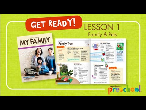 My Family Lesson 1