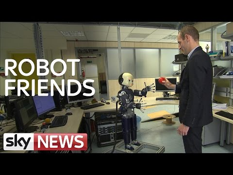Future of robotics: They have a lot of personality