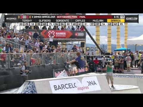 Pedro Barros wins Skateboard Park gold_Best extremsport videos of the week