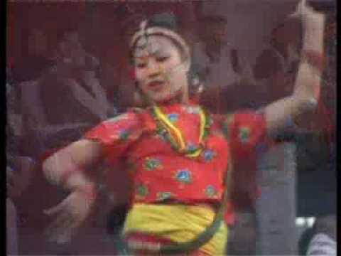 Rekha Thapa Dance Nepali Teej Song YouTube Malati Ko bhatti is Rekha