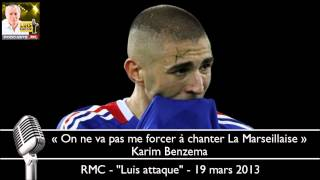 Video Benzema: « On ne va pas me forcer à chanter La Marseillaise » MP3, 3GP, MP4, WEBM, AVI, FLV Juni 2017