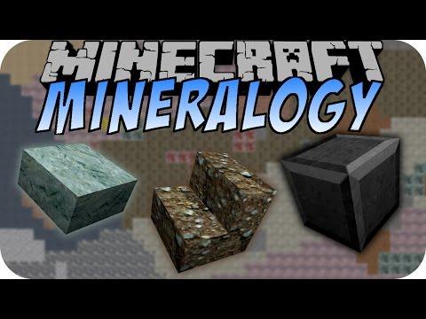 Minecraft MINERALOGY MOD (Realistic, Mineralien) [Deutsch]