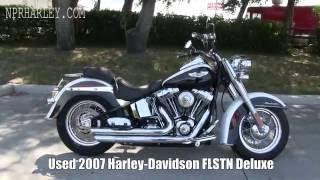 7. USED 2007 Harley Davidson FLSTN Deluxe for sale craigslist