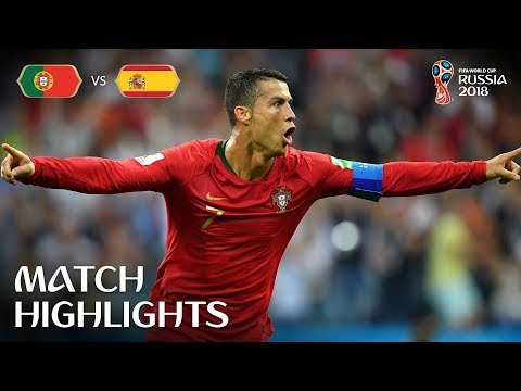 Portugal v Spain - 2018 FIFA World Cup Russia™ - MATCH 3 (видео)
