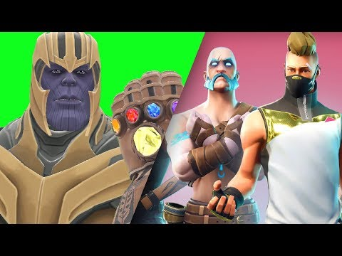 Can Thanos' INFINITY GAUNTLET Kill FORTNITE Forts in Gmod!? (видео)