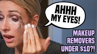 I Tried 5 Makeup Removers Under $10 in 5 Days.. DO THEY EVEN WORK?! by Rachhloves