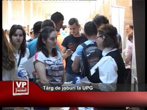 Târg de joburi la UPG