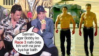 Video Dharmendra Gets EMOTIONAL Thanking Salman Khan For Saving Bobby Deol's Career By Giving Him Race 3 MP3, 3GP, MP4, WEBM, AVI, FLV Maret 2019