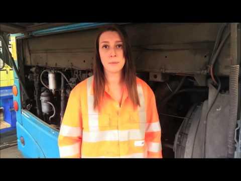 Pamela Chapman, Mechanical Electrician Apprentice, Arriva UK Bus