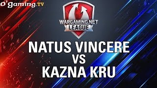 Na'Vi vs Kazna Kru - WOT Wargaming Gold League Europe - Quart de finale