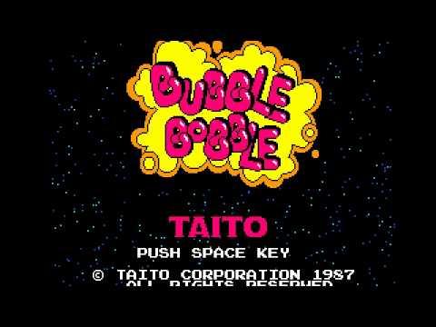 Bubble Bobble (1987, MSX2, TAITO)