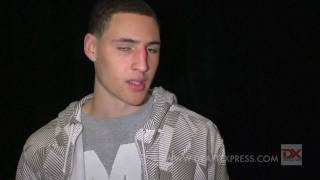 Klay Thompson Draft Combine Interview