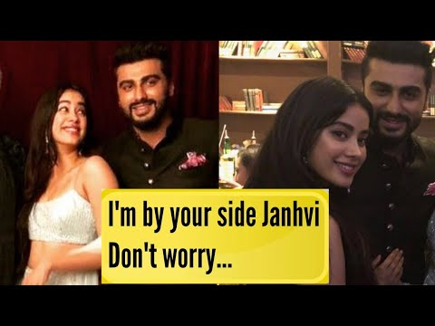 Arjun Kapoor EMOTIONAL Message For Sister Janhvi K