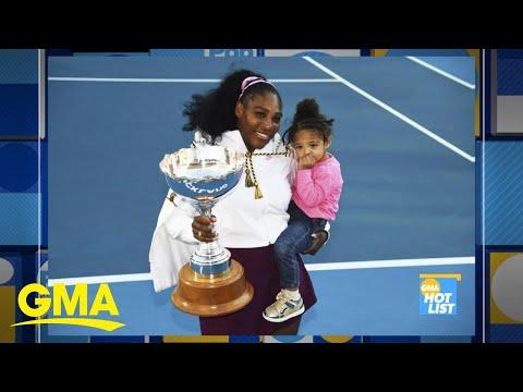 'GMA' Hot List: Serena Williams donates prize money to wildfire efforts in Australia l GMA Digital