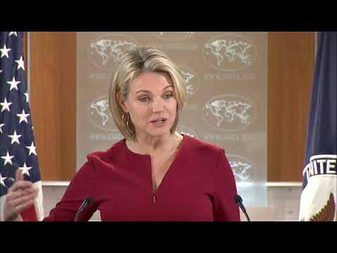 Department Press Briefing - January 16, 2018