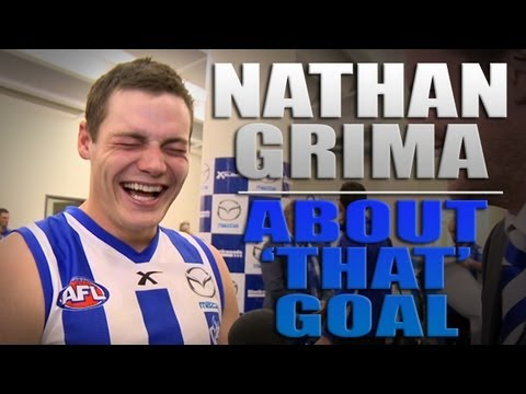 Round 21, 2013 - Nathan Grima on 'that goal'