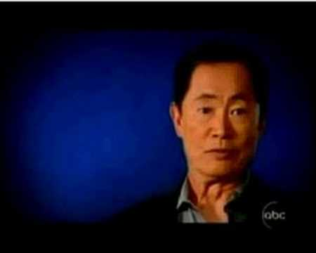 sulu - George Takei, taking on Tim Hardaway.