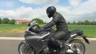 9. The 3 modes of the new Honda VFR1200F motorcycle with Dual Clutch Transmission