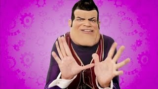 We Are Number One but instead of robbie rotten saying