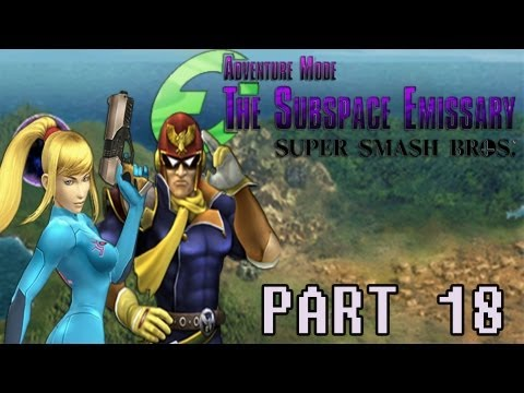 preview-Gaming with the Kwings - SSBB The Subspace Emissary part 18 co-op (Kwings)