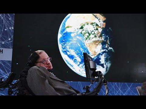 Ο Ευρωπαϊκός Οργανισμός Διαστήματος αποχαιρετά τον Στίβεν Χόκινγκ…