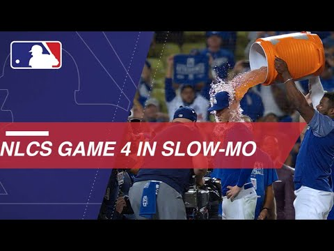Video: NLCS Gm4: Watch Slo-mo footage of Game 4 of the NLCS