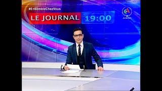 Journal d'Information 19H : 28-03-2020 Canal Algérie