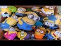 foto Despicable Me Minions Box of Toys Lucy Kevin The Minions Bob Phil Tim Karl Jerry Stuart Dave Borwap